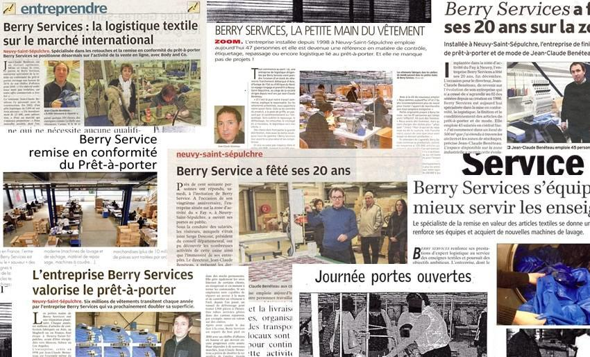 Berry Services: Press review